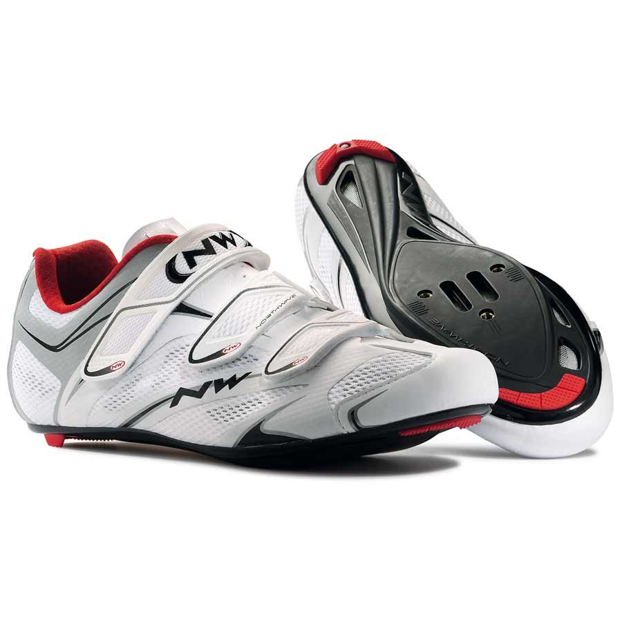 Northwave, Sonic 3S, Road shoes, Men's, White/Silver, 42