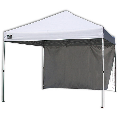 Quik Shade Commercial 10'x10' Straight Leg Instant Canopy (100 sq. ft. coverage) by Shelter Logic