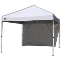 Quik Shade Commercial 10'x10' Straight Leg Instant Canopy (100 sq. ft. coverage)