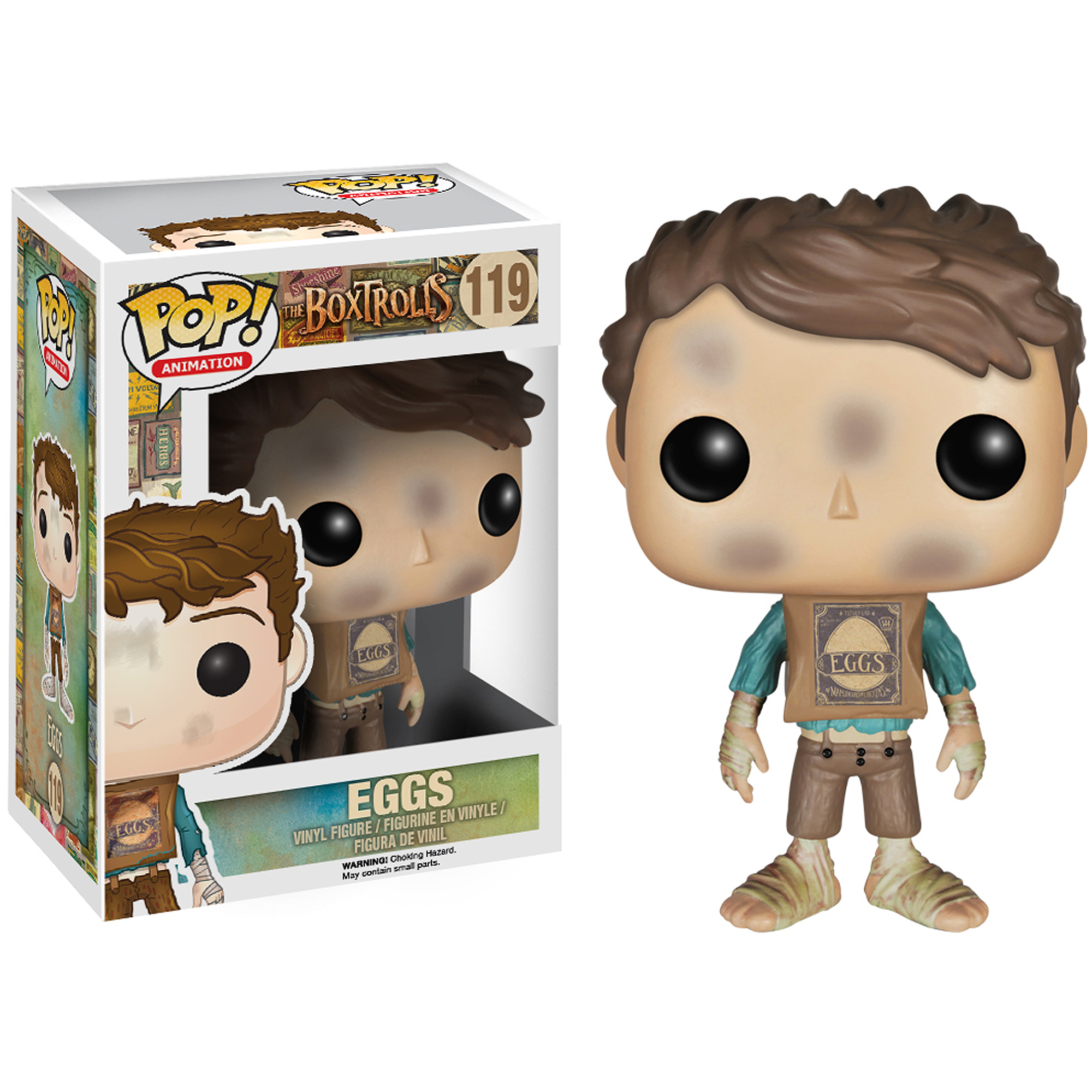 Funko Universal Studios The Boxtrolls Eggs Pop Vinyl Figure