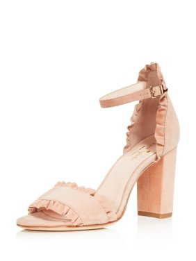 d4a13b2a308e08 Product Image Kate Spade New York Womens Odele Suede High Heel Sandals