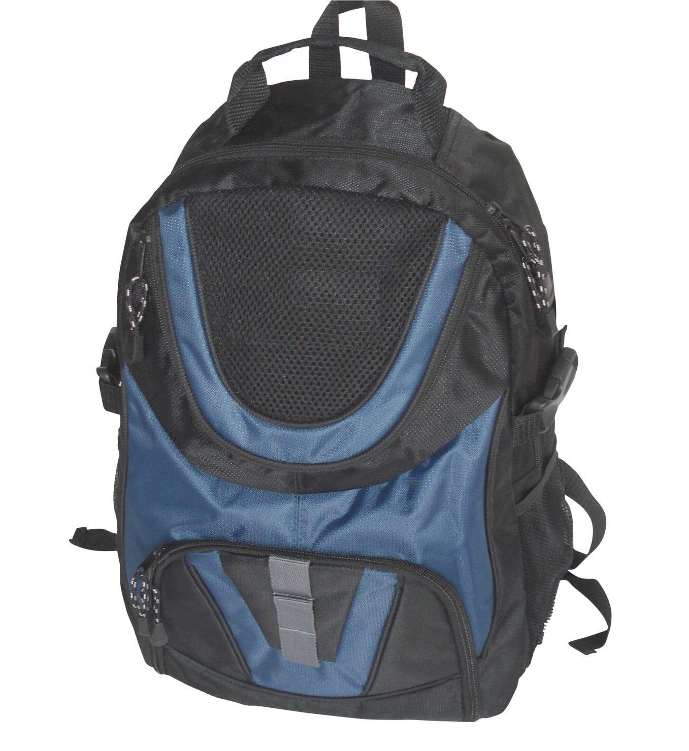 SchoolSmart Dual Pocket Backpack by Generic
