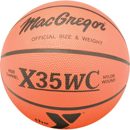 Logo Fathead Basketball - X35WC Official Basketball with YMCA Logo
