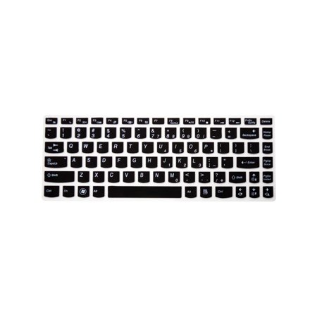 PcProfessional Black Ultra Thin Silicone Gel Keyboard Cover for Lenovo  Ideapad Y700 14