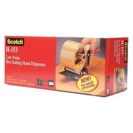 Low Noise Handheld Tape Dispenser,3 In. SCOTCH H-153