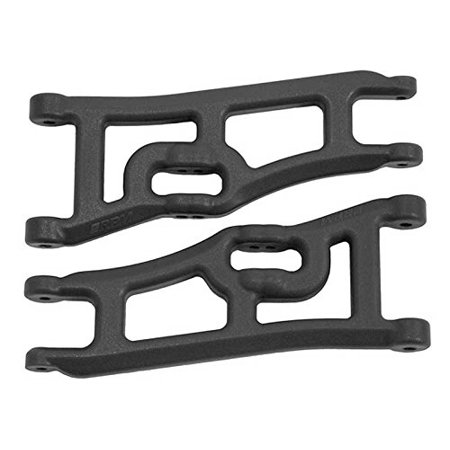 Wide Front A-arms, Black; Traxxas Rustler Stampede ()