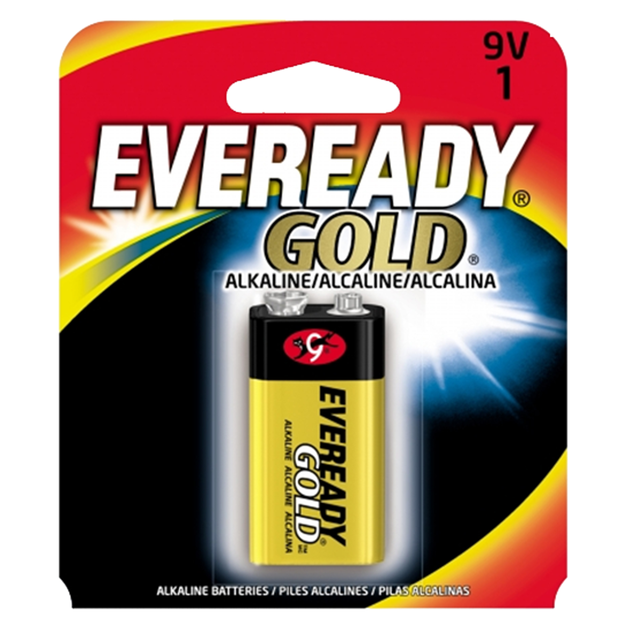 Energizer Eveready Gold 9V Battery Per 1