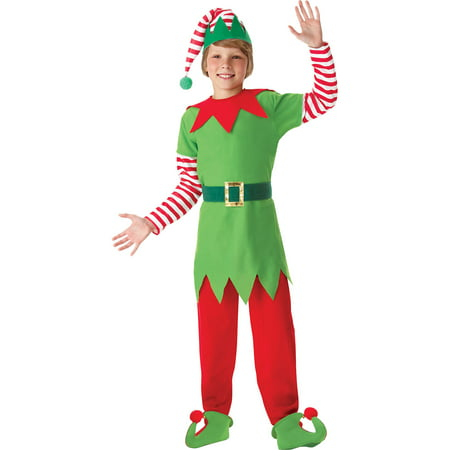 Costume For Christmas (Amscan Elf Costume for Boys, Christmas Costumes Large, with Included)