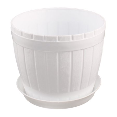 Garden Plastic Cylinder Plant Grass Flower Vegetable Planting Holder Pot (Best Way To Keep Grass Out Of Flower Beds)