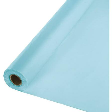 Pastel Blue Banquet Table Roll - Football Banquet Ideas