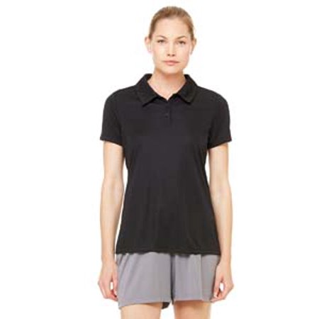 All Sport Ladies' Performance Three-Button Polo
