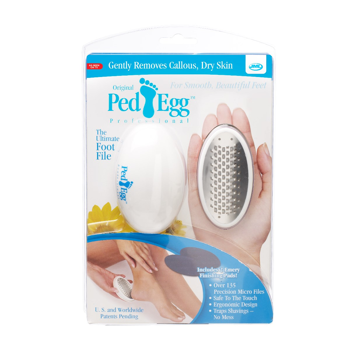 Superb As Seen On Tv Ped Egg Professional Foot File Walmart Com Ncnpc Chair Design For Home Ncnpcorg