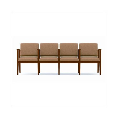 Lesro Amherst Four Seat Sofa with Center Arm