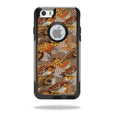 Skin for otterbox commuter iphone 6 plus case pheasant feathers mightyskins protective durable