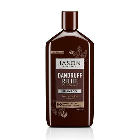 Dandruff Relief Treatment Shampoo, 12 oz. (Packaging May Vary) Jason Dandruff Control Shampoo