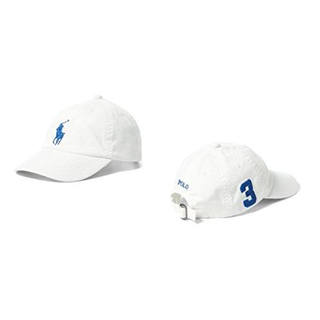 424c08c2 RALPH LAUREN - Polo Ralph Lauren Boys' Big Pony Chino Sports Cap (Toddler  or Little Boys) - Walmart.com