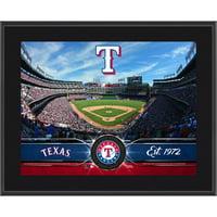"""Texas Rangers Fanatics Authentic 10.5"""" x 13"""" Sublimated Team Plaque - No Size"""