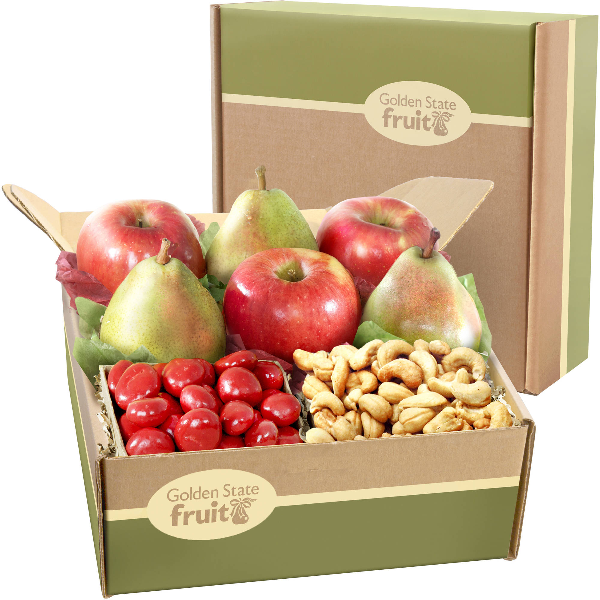 Best Wishes Classic Fruit Gift Box, 8 pc