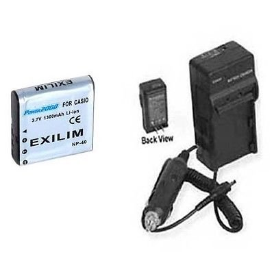 NP_40 Battery +Charger for DXG DXG_125 DXG_517 DXG_533 DX...