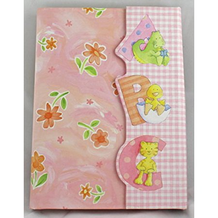 Cr Gibson Cathy Heck Studios Pink Floral Abc Baby Brag Book Photo