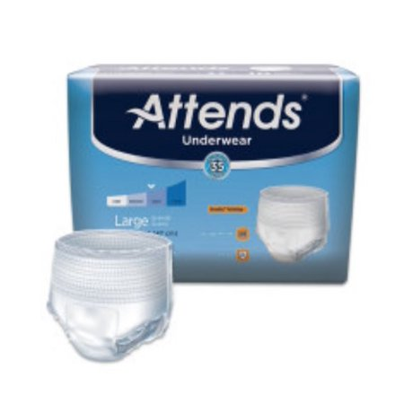 Attends Underwear Large Extra Absorbency 18 Count AP0730