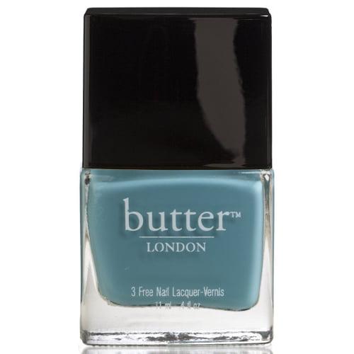 Butter London 3 Free Nail Polish,Artful Dodger, True Teal Colour - Walmart.com