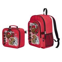 "NFL San Francisco 49ers ""Accelerator"" Backpack and Lunch Kit Set"