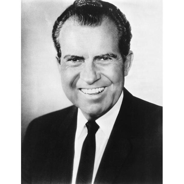 Richard Nixon (1913-1994) N37Th President Of The United ...