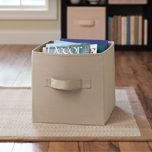 Better Homes and Gardens 13.5 x 13.5 Collapsible Fabric Storage Cube