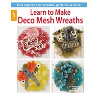 Learn to Make Deco Mesh Wreaths
