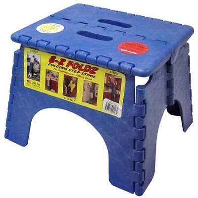 Beige B/&R Plastics 101-6BG E-Z Foldz Step Stool 9
