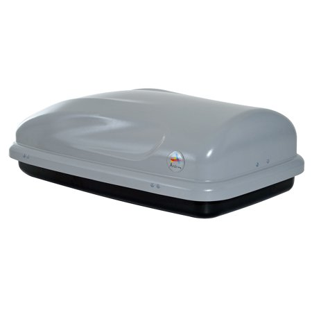 Roof Mount Boxes - Aosom 7 Cubic Feet Cargo Box - Hard-Shell Rooftop Rack Luggage Carrier