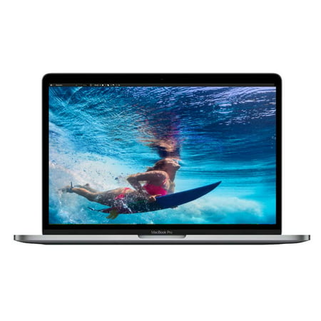 Apple A Grade Macbook Pro 13.3-inch (Retina, Space Gray) 2.5Ghz Dual Core i7 (Mid 2017) MPXQ2LL/A 512GB SSD 8GB Memory 2560x1600 Res Parrallels Dual Boot MacOS/Win 10 Pro Power
