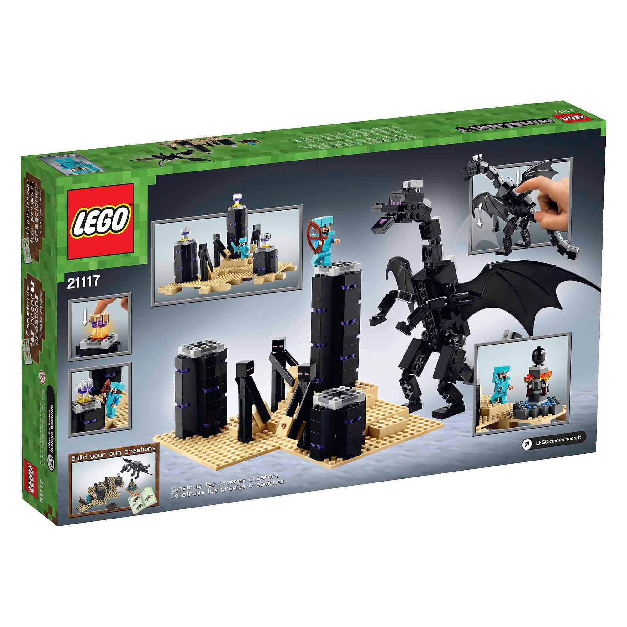 Lego Minecraft The Ender Dragon by LEGO Systems, Inc.