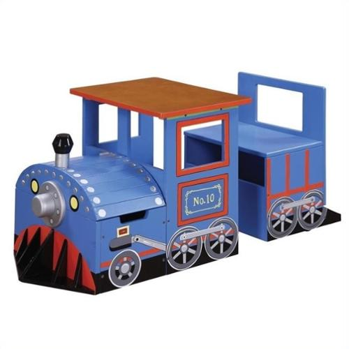Teamson Kids Trains And Trucks Train Writing Desk