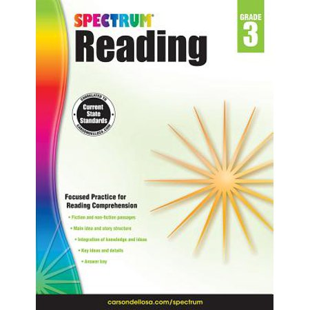 Spectrum Reading Workbook, Grade 3](Halloween Centers Grade 3)