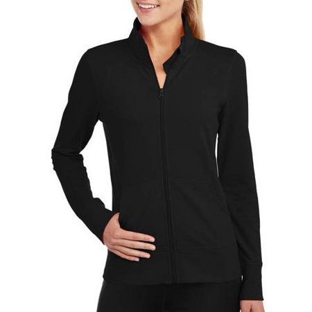 9906d684fde97 Danskin Now - Women s Active French Terry Jacket - Walmart.com