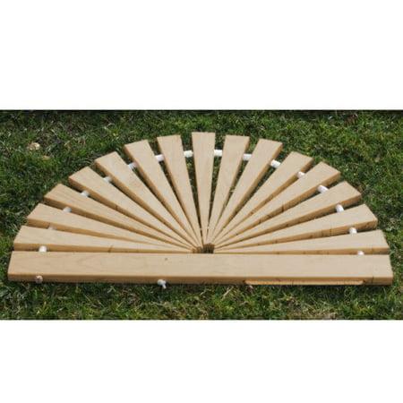 Furniture Barn USA® Red Cedar Sunburst Door Mat - Small