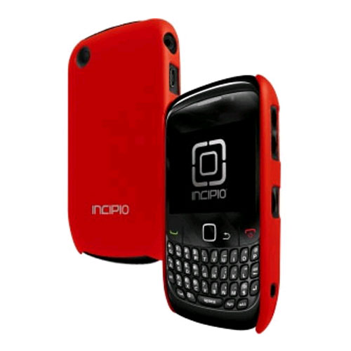 Incipio Feather Fitted Case for BlackBerry 8520/9330 - Red