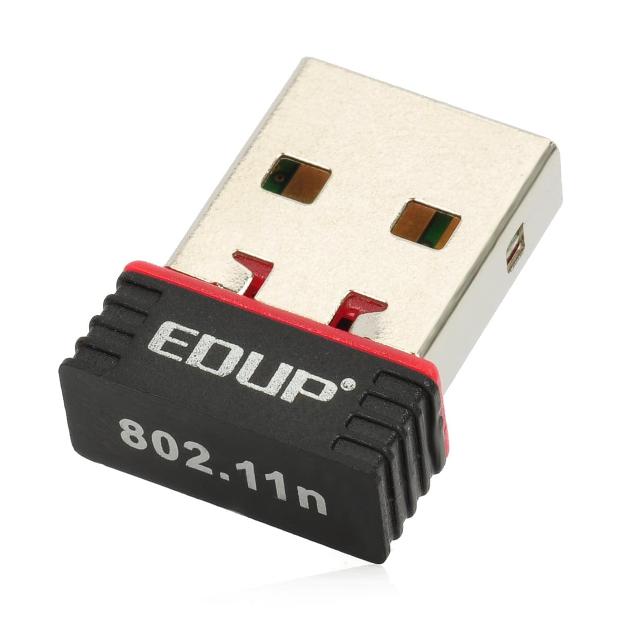 Mini 150Mbps Nano USB WiFi Wireless WLAN Network Adapter ...