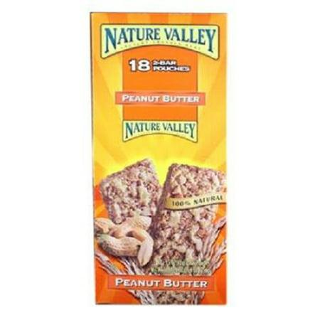 Nature Valley Peanut Butter Granola Bars (Nature Valley Granola Bar Peanut Butter, 1.50-Ounces (Pack of 18))