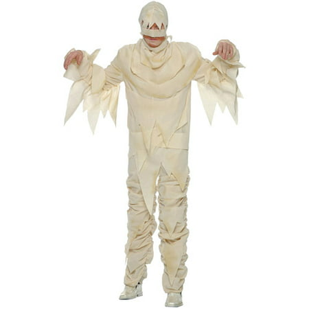 Mummy Adult Halloween Costume - Mummy Cartoon Halloween