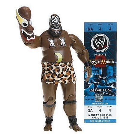 Wwe Classic Superstar Collector Series  9 Kamala By Jakks Pacific