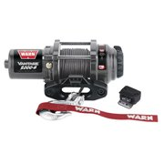 "Warn Vantage 2000-S 2,000 lb. Capacity RV Winch with 50' x 5/32"" Cable"