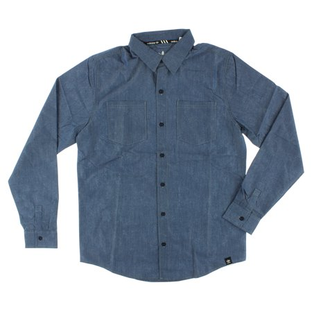 Adidas Long Sleeve Top - Adidas Mens Glazed Long Sleeve Top Blue
