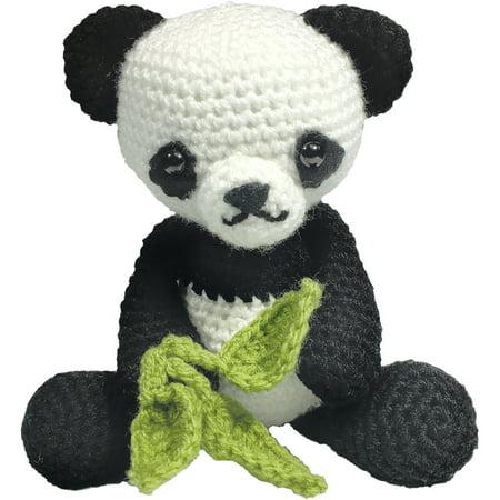 The Crafty Kit Co Crochet Kit Patsy Panda Walmartcom