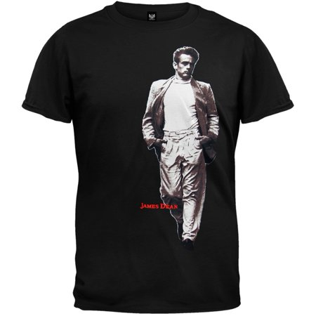 James Dean - Legend Embroidered T-Shirt