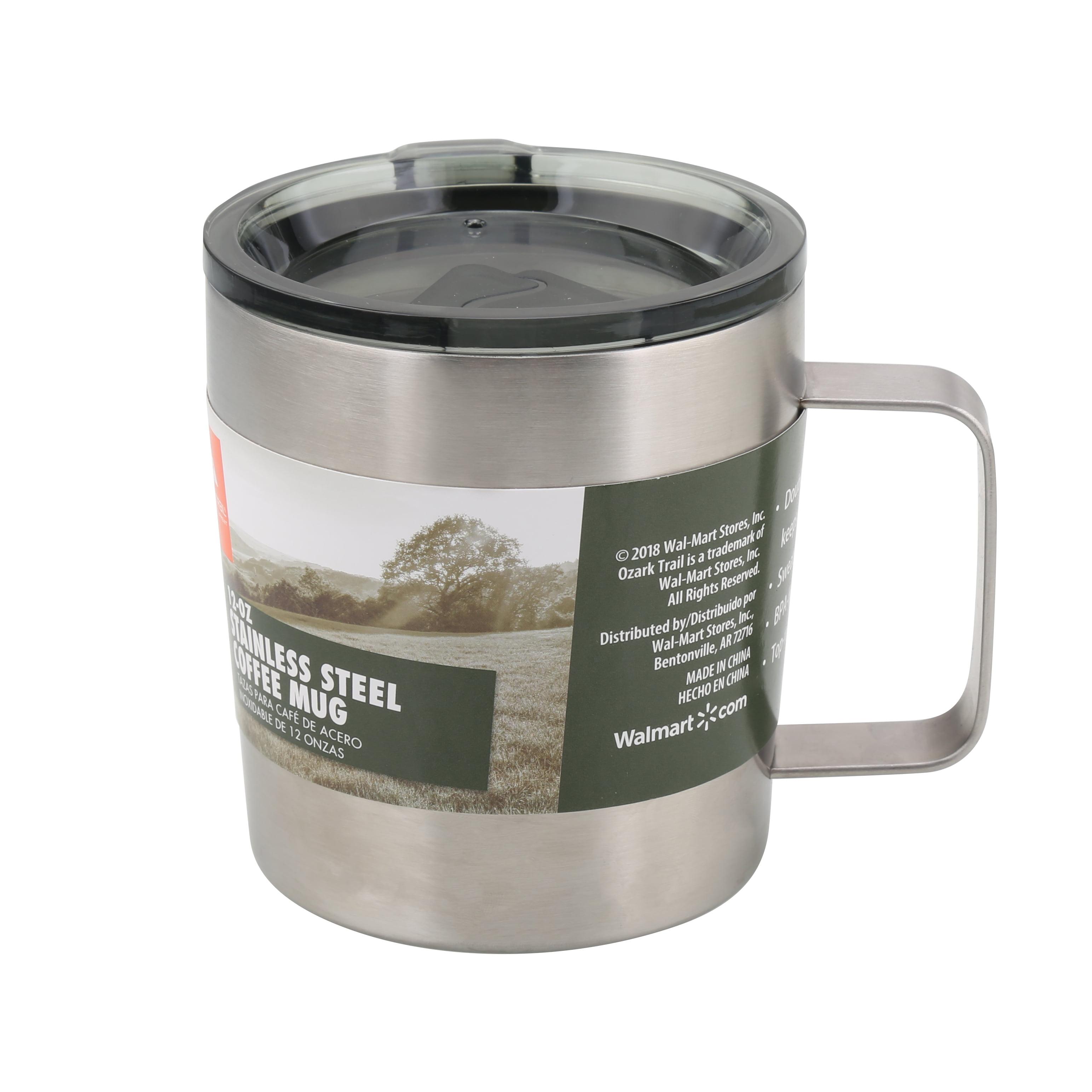 Ozark Trail 4pk 12oz Coffee Mug Walmartcom