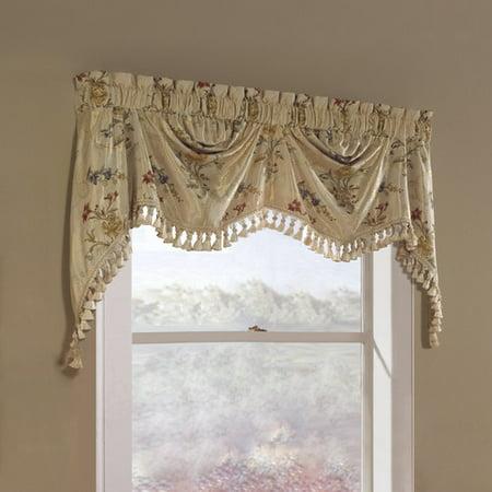 United Curtain Jewel Austrian Window Valance