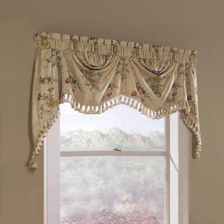 United Curtain Jewel Austrian Window Valance
